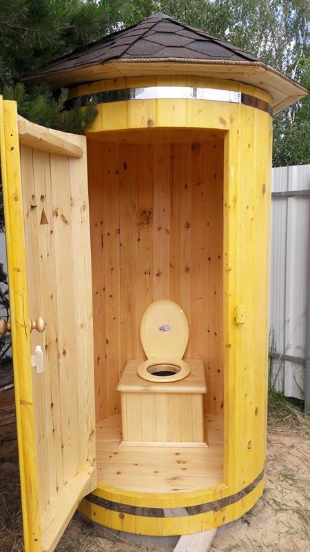 Туалетную кабинку своими руками 16